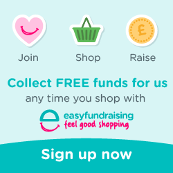 The Millin Charity easyfundraising link image