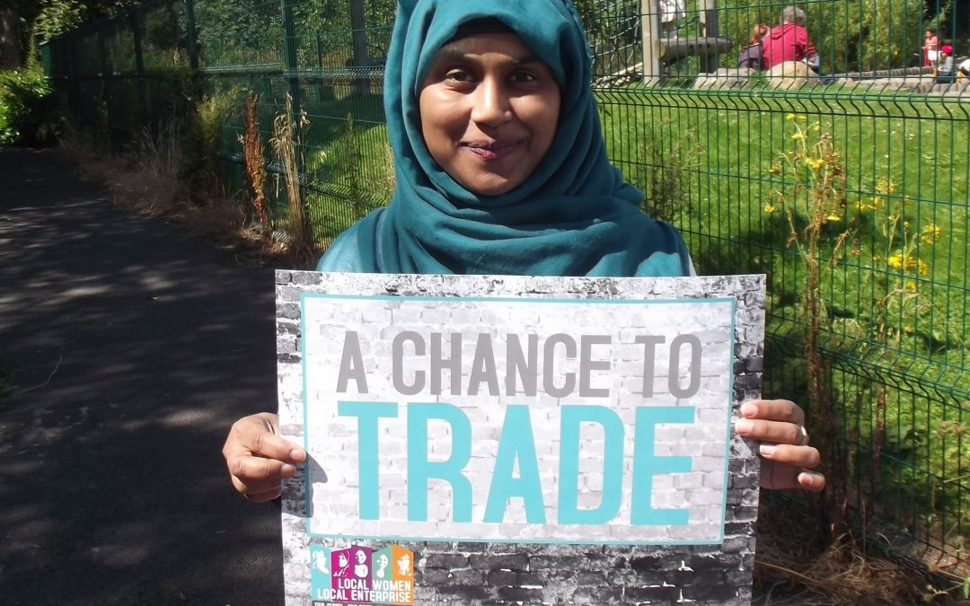 Please VOTE to give unemployed women #AChanceToTrade …